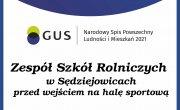 Tu możesz się spisać! - Zespół Szkół Rolniczych w Sędziejowicach 25 września 2021