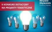 Aktywni Obywatele – konkurs dotacyjny dla organizacji społecznych
